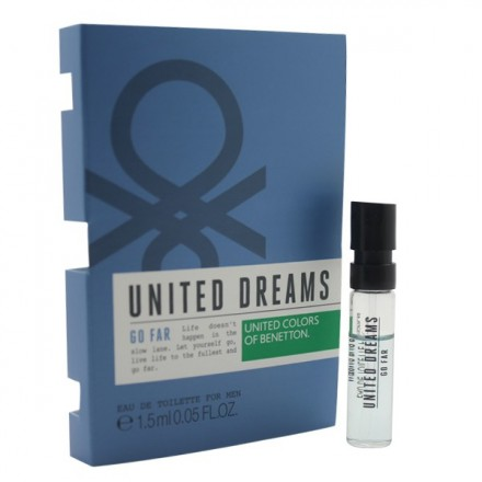 United Dreams Go Far For Men (Vial)