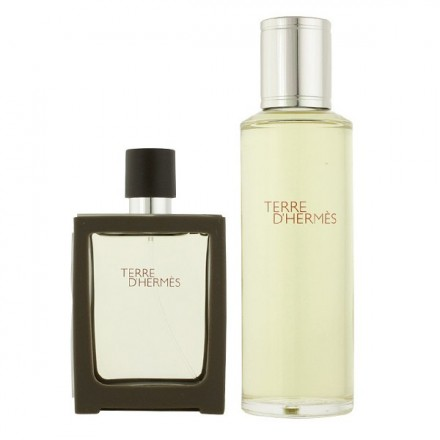 Terre D Hermes Man EDT (Refillable Set)