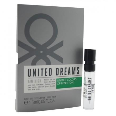 United Dreams Aim High For Men (Vial)