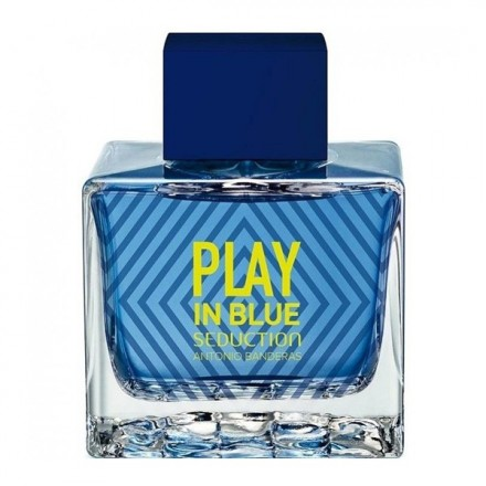 Play in Blue Seduction Man - Antonio Banderas
