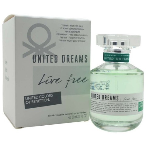 United Dreams Live Free For Her (Tester) Benetton