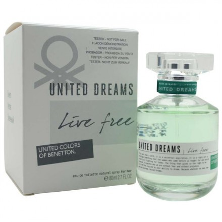 United Dreams Live Free For Her (Tester)