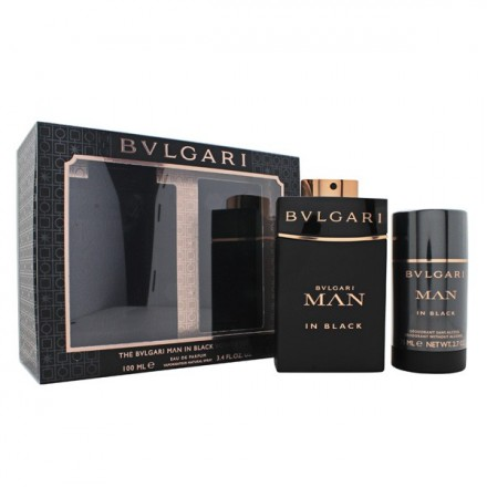 The Bvlgari Man In Black Voyage Set