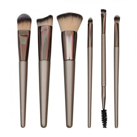 Brown Brush Set (6 pcs)
