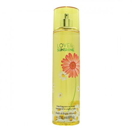 Love & Sunshine (Body Mist) - Bath & Body Works