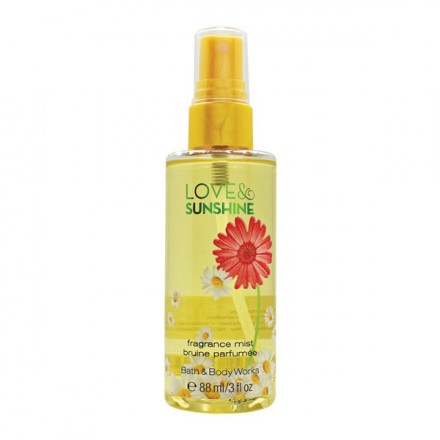 Love & Sunshine (Travel Mist) - Bath & Body Works