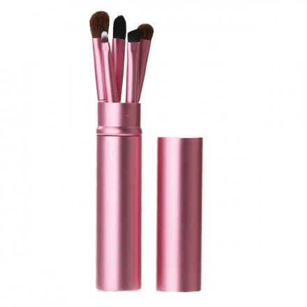 Pink Travel Brush Set (5 pcs)
