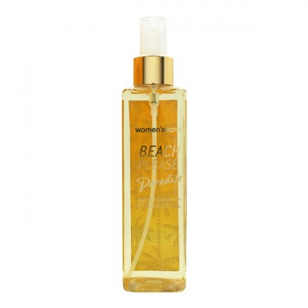 Women Secret Beach Please Paradise Glittering Body Mist