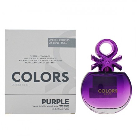 Colors de Benetton Purple For Her (Tester) - Benetton