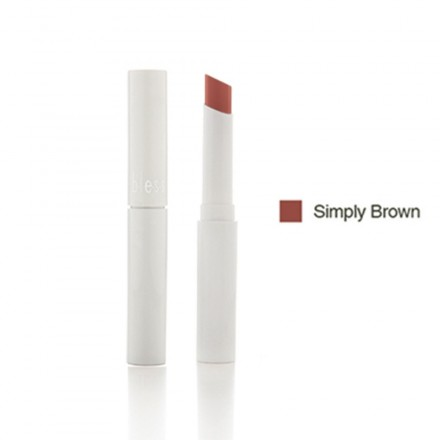 Bless Care Lipstick Simply Brown 01B