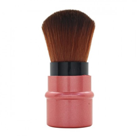 Rose Gold Mini Rectractable Brush
