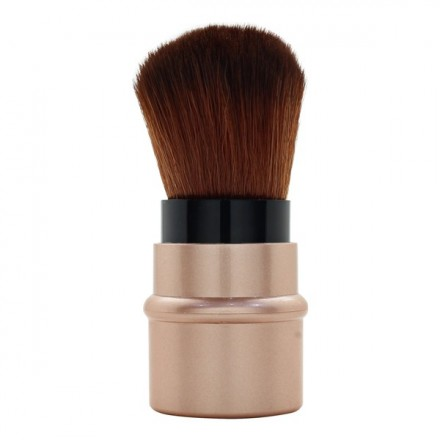 Gold Mini Rectractable Brush