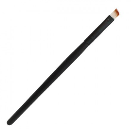 Black Angled Eyebrow Brush