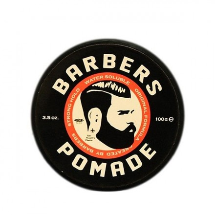 Barbers Pomade Strong Hold Water Soluble