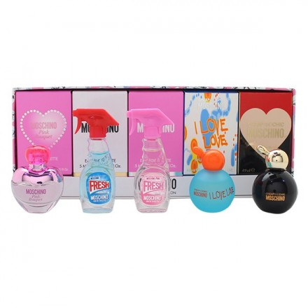 Miniature Collection Woman (Gift Set A) - Moschino