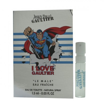 Le Male Superman Eau Fraiche Man (Vial) - Jean Paul Gaultier