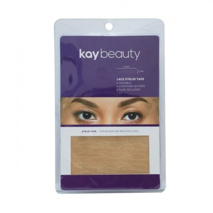 48 PAIRS LACE EYELID TAPE - Kay Beauty