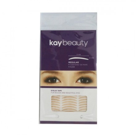 120 PAIRS NUDE EYELID TAPE - Kay Beauty