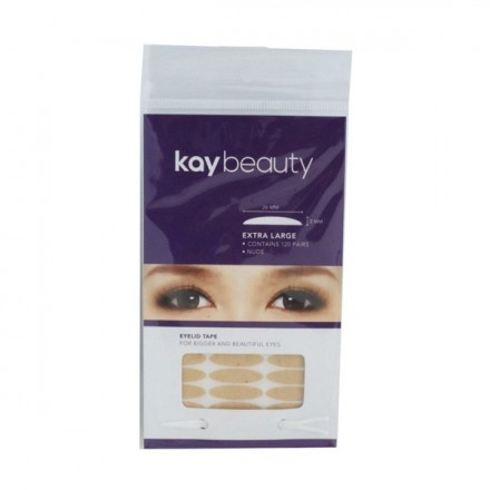 60 PAIRS NUDE ECLIPSE EYELID TAPE - Kay Beauty