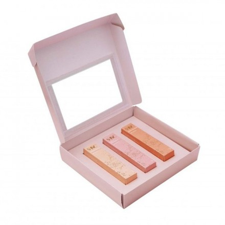 Like A Diamond 18K Lip Shine Trio Set - SASC