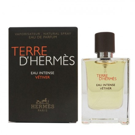 Terre d Hermes Eau Intense Vetiver Man(Mini Spray) - Hermes