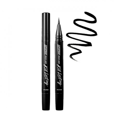 Kill Lasting Superproof Brush Liner 01 Black