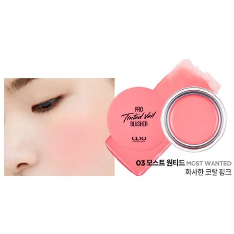Pro Tinted Veil Blusher 03 Most Wanted - Clio