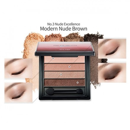 Pro Eye Palette Quad 03 Nude Excellence