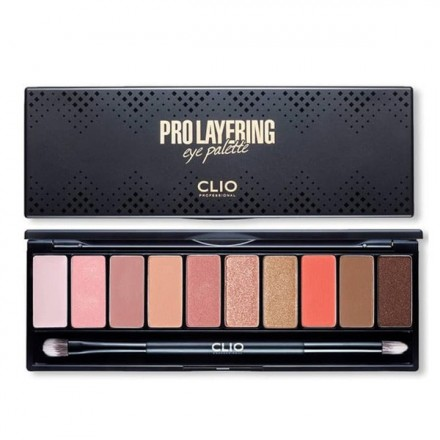 Pro Layering Eye Palette 3 Softish - Clio