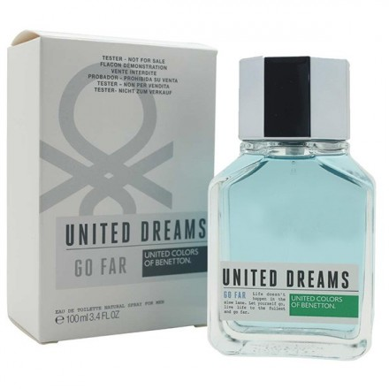 United Dreams Go Far For Men (Tester)