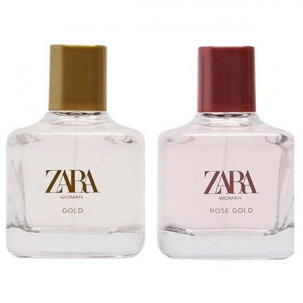 Woman Gold & Woman Rose Gold - Zara