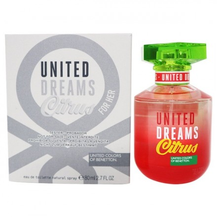 United Dreams Citrus For Her (Tester)