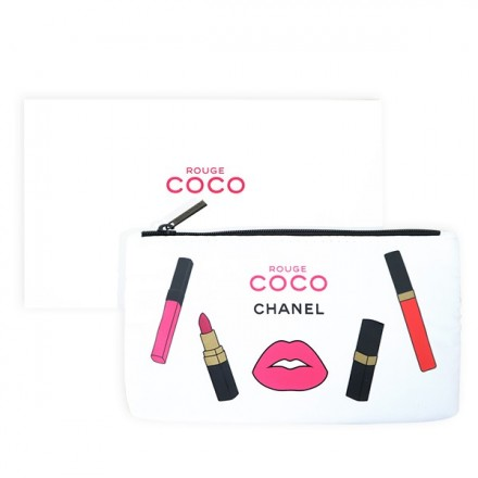 Rouge Coco Pouch - Chanel