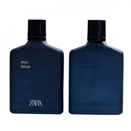 Man Silver & Man Blue Spirit