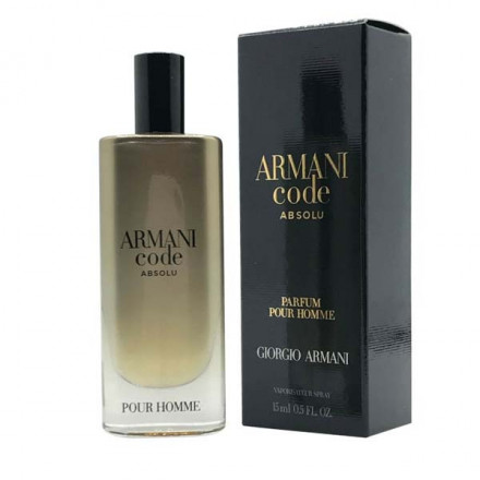Armani Code Absolu Man (Miniatur Spray) 15 ML - Giorgio Armani