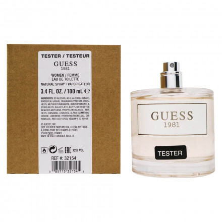 Guess 1981 Woman (Tester) - Guess
