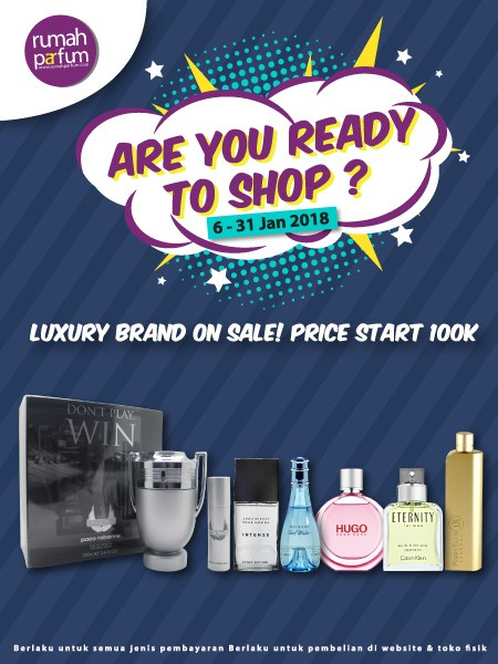 Are You Ready to Shop!