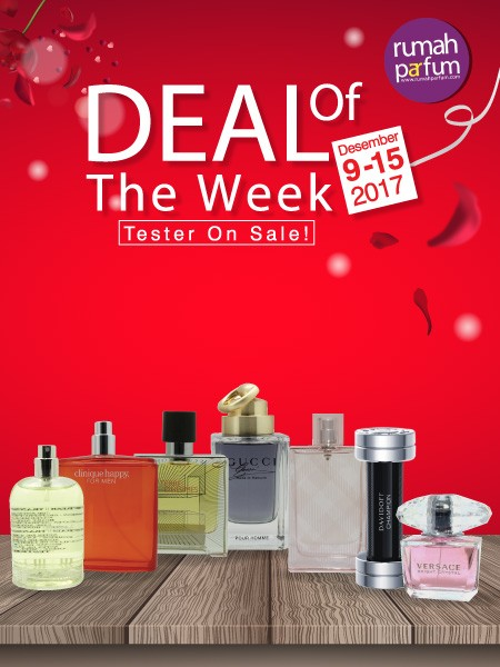 Deal of the Week 9 - 15 Desember 2017