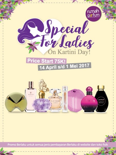 Special for Ladies on Kartini Days