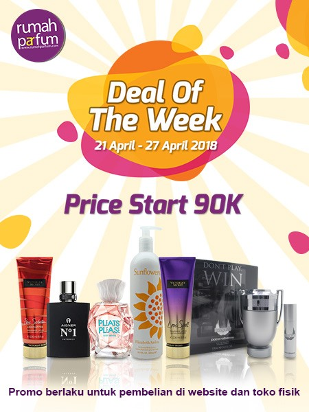 Deal of the Week 21 - 27 April 2018