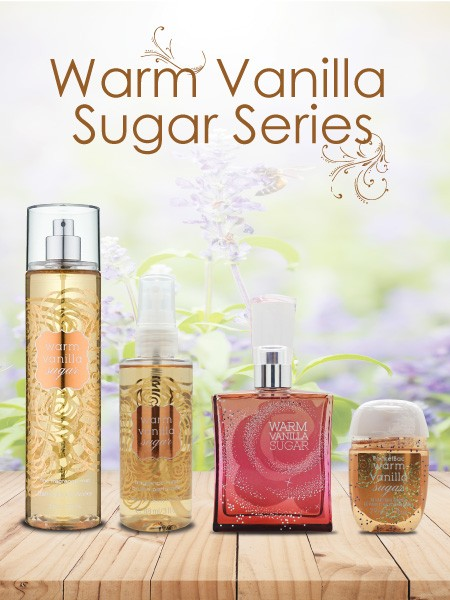 BBW Warm Vanilla Sugar Series