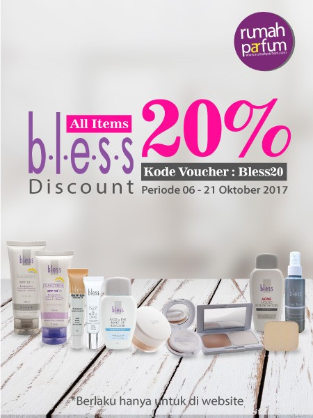Discount 20% Bless Product