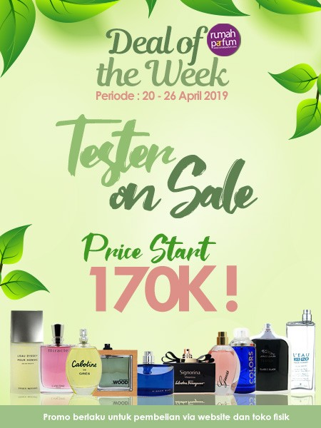 Deal of the Week 20 - 26 April 2019
