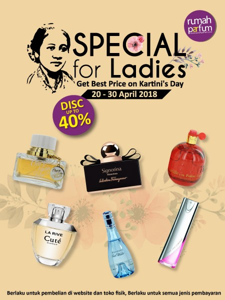Special for Ladies Kartini's Day