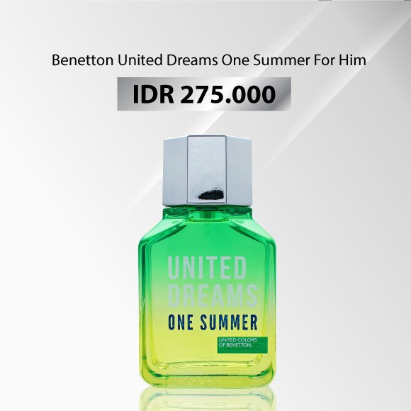 Benetton - UNITED DREAMS ONE SUMMER FOR HIM