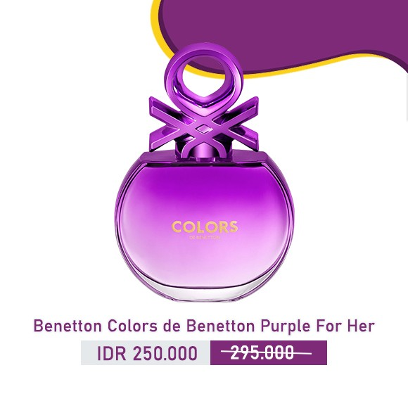 Benetton - Colors de Benetton Purple for Her