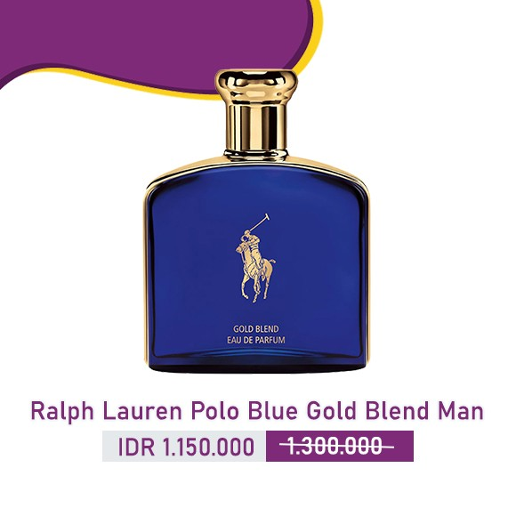 Ralph Lauren - Polo Blue Gold Blend Man